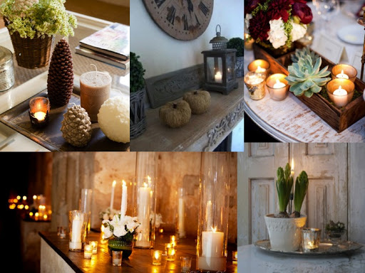 Ideas para Decoración con Velas Ornamentales